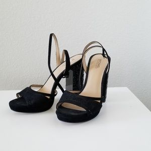 Authentic Michael kors platform heels